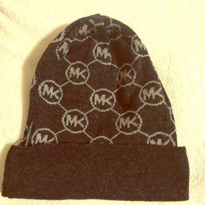 Black Michael Kors Beanie Hat